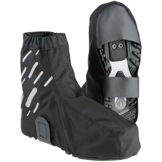The most crucial piece of cycling rain gear: the shoe covers.