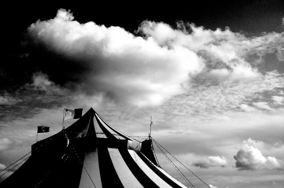 The Circus Tent II, by Timmy on flickr