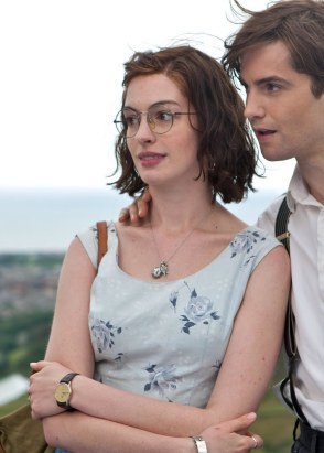 "Anne Hathaway as a ""too pretty"" Emma Morley in One Day (2011)."