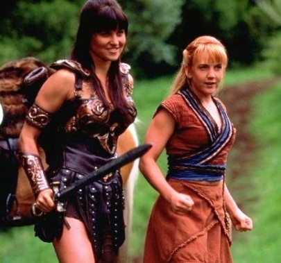 Xena and Gabrielle 3