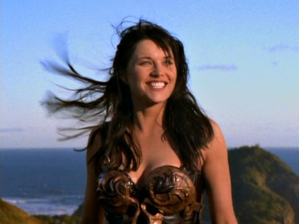 Xena from opening credits