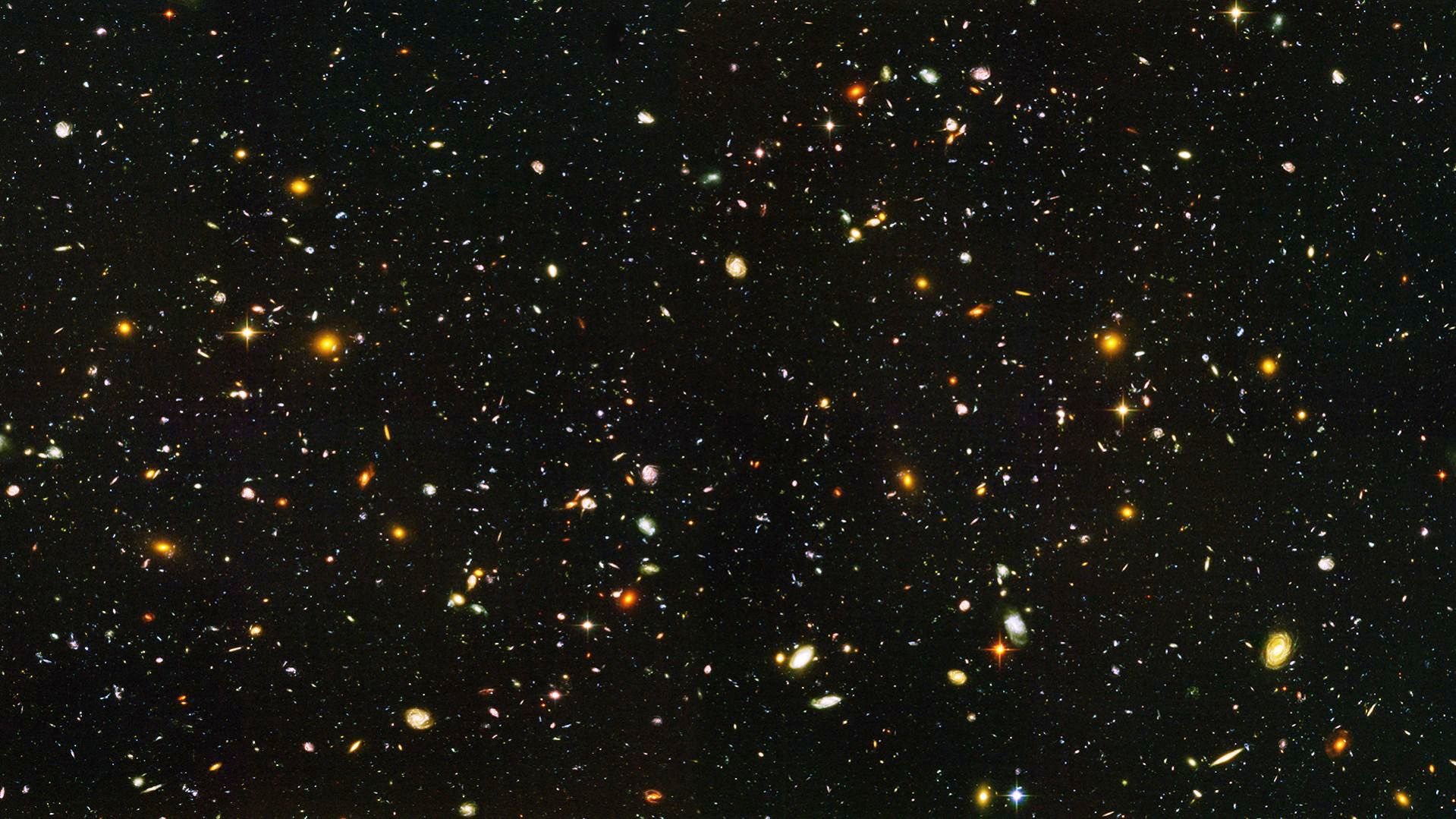Hubble Ultra Deep Field High Resolution - Pics about space