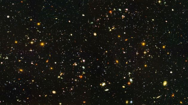 Hubble ultra deep field - landscape