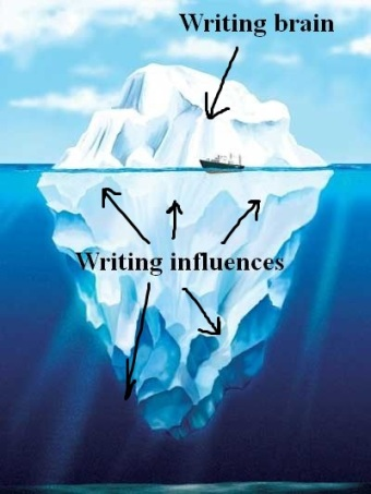 Iceberg writing influences