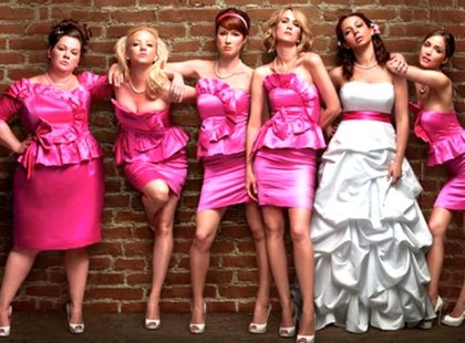 Bridesmaids cast (2011).
