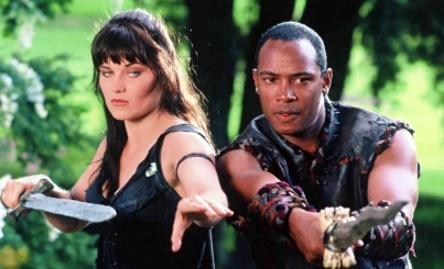 Xena and Marcus