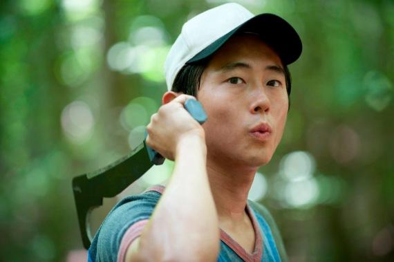 Glenn from TVs The Walking Dead