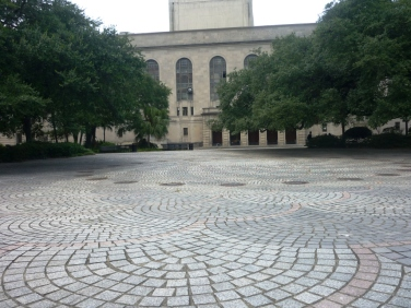 Congo Square, where the Sunday slave gatherings took place