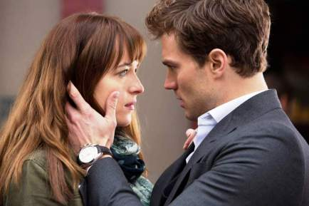 Fifty Shades of Grey movie scene
