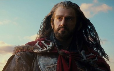 One more picture of Thorin's glorious tresses, cuz why not?