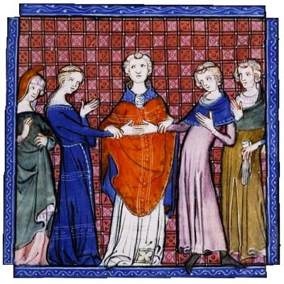 A medieval betrothal