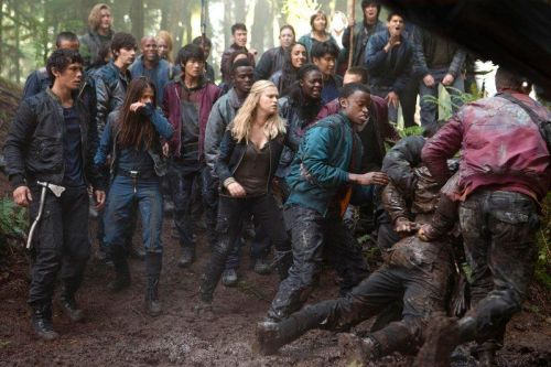 Clarke and the 100