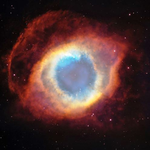 The Helix Nebula, nicknamed the Eye of God