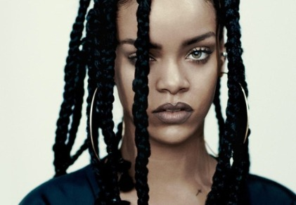 One more RiRi pic, because this is how boss I feel after overcoming this writing challenge