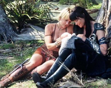 Xena, Gabrielle and Eve
