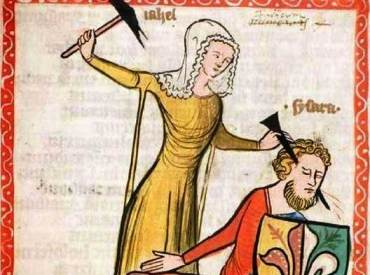 What some medieval ladies perhaps wished they could do to escape marriage