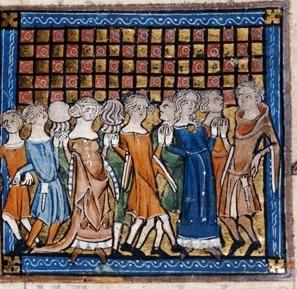 A medieval carole