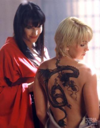 Xena and Gabrielle in Japan